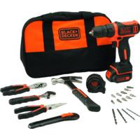 BLACK&DECKER BDCDD 12 HTSA akumulatorska bušilica set