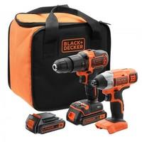 BLACK&DECKER BCK 21S1S akumulatorska bušilica set