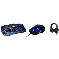 MS INDUSTRIAL BOOSTER + FLIPPER2 + GODZILLA - Tastatura, miš i slušalice